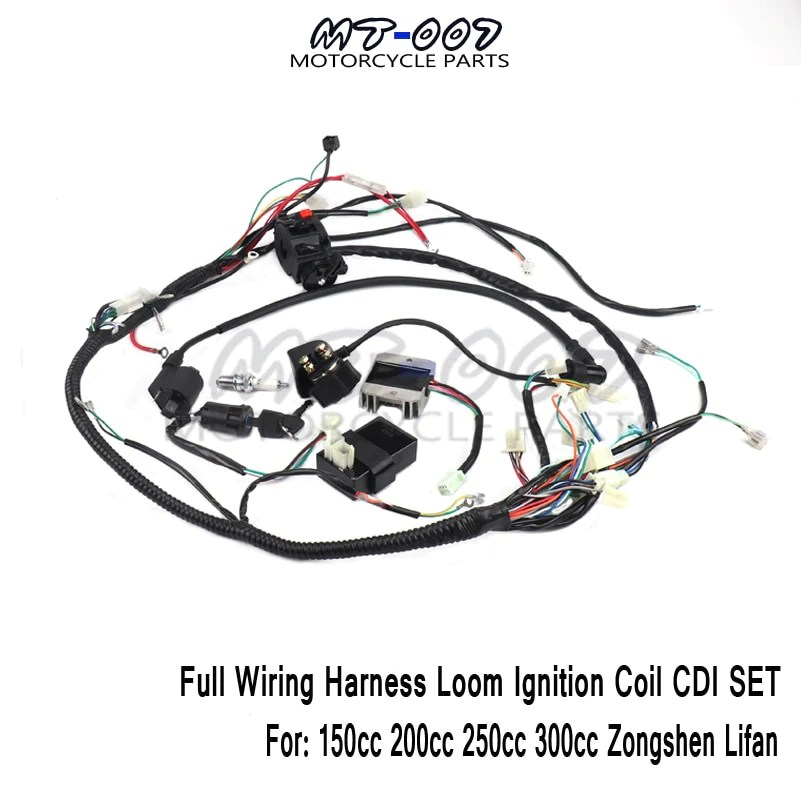 atv wiring harness replacement