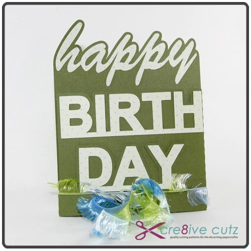 Happy Birthday Gift Card Holder – Cre8ive Cutz