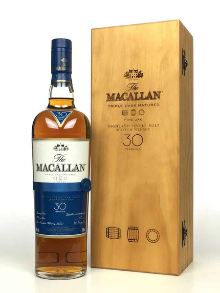 Macallan 30 Year Old Sherry Oak (2018 Release) – The Whisky Source