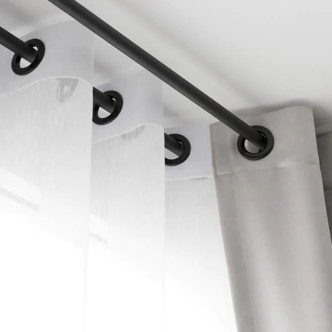 how do i clean my curtain pole to