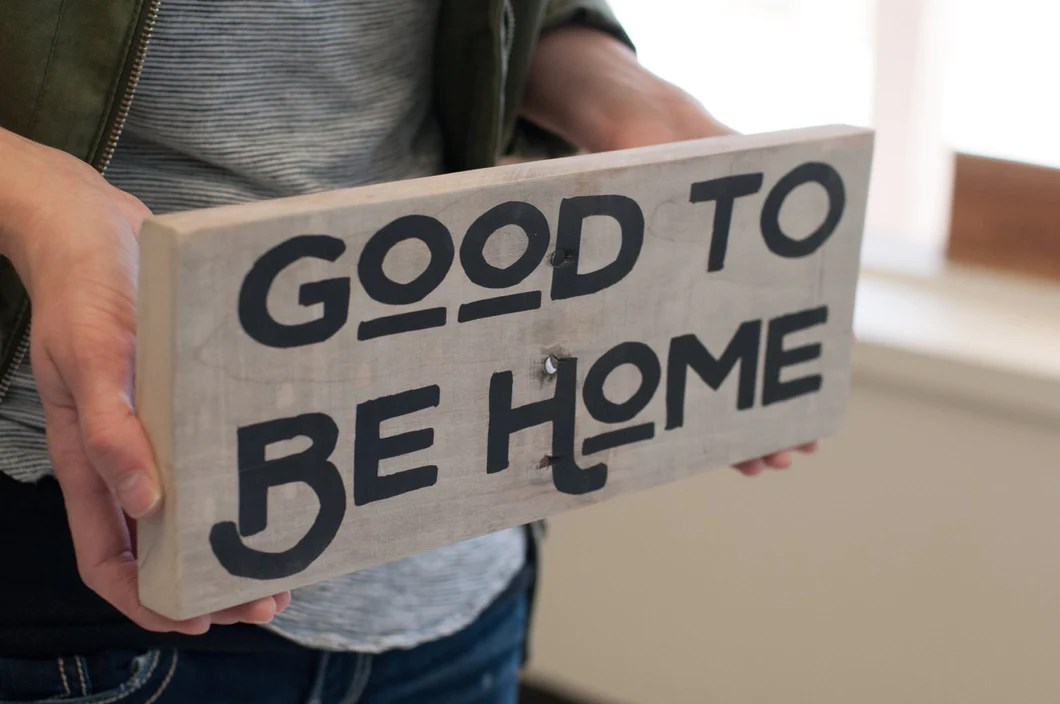 Reclaimed Wood Home Decor Sign Gift For Her Rustic