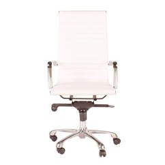 Desk Chair High What Does A Gaming Do Omega Office Back White Set Of Two Parker Gwen
