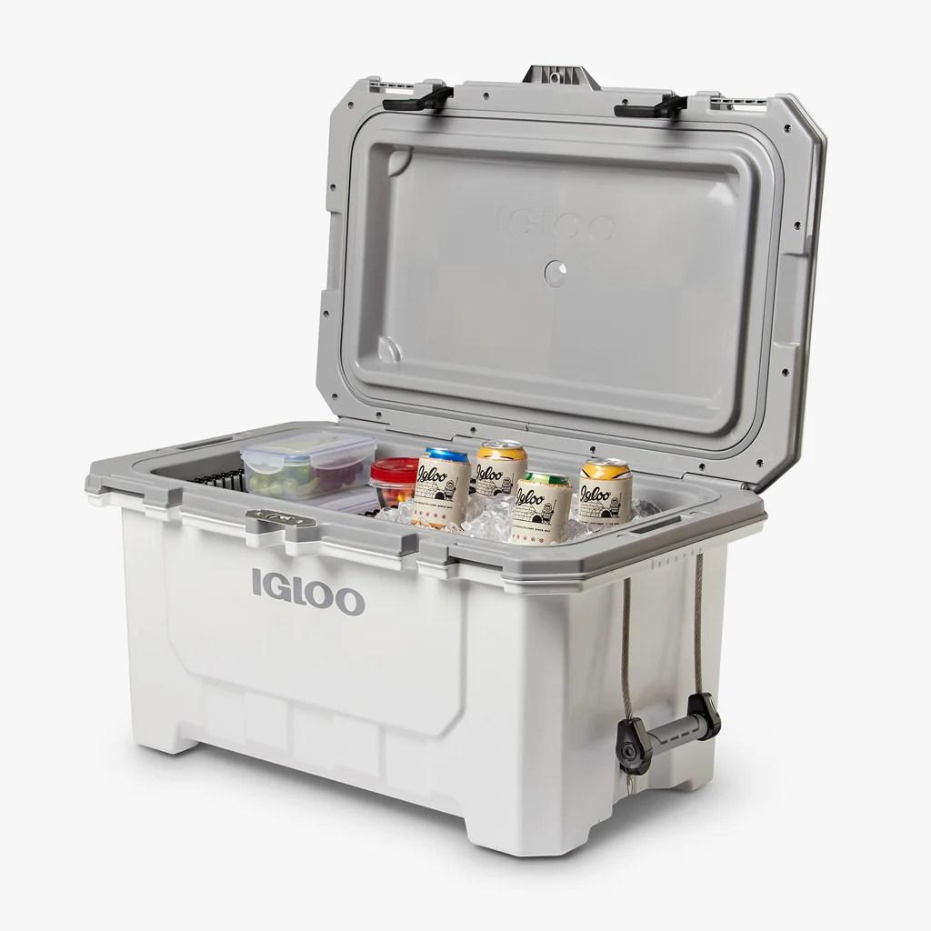 Igloo Coolers Imx 70 Qt Cooler-white Charcoal