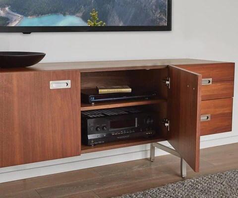 living room media furniture modern art storage dania dissone stand