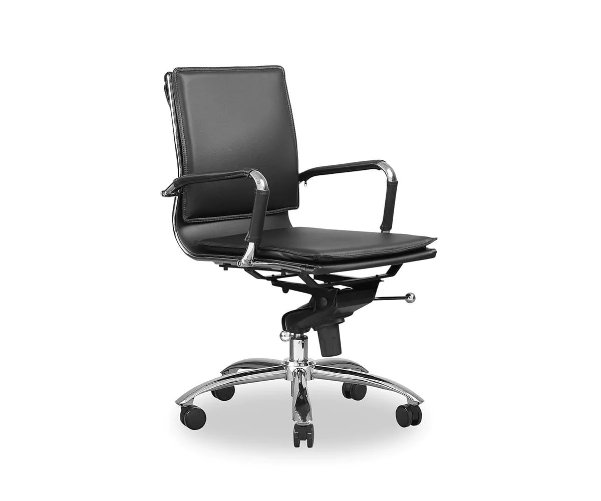 Low Back Office Chair Brock Low Back Office Chair Dania Furniture