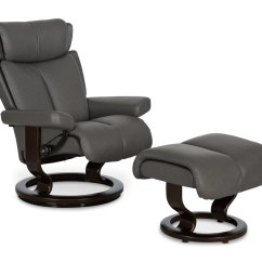 Recliner Vs Chair With Ottoman Best For Writing Desk Stressless Magic Dania Furniture