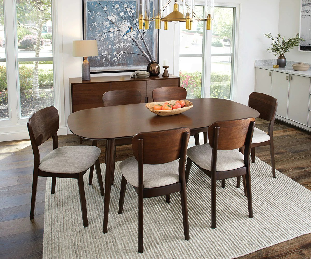 Mid Century Modern Style For Dining Rooms Scandinavian Designs