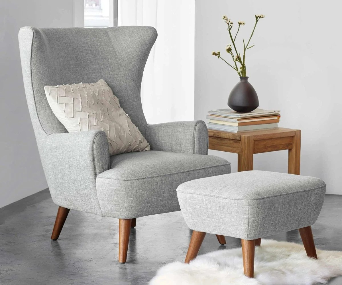 high back chairs with arms repairing leather katja chair grey scandinavian designs