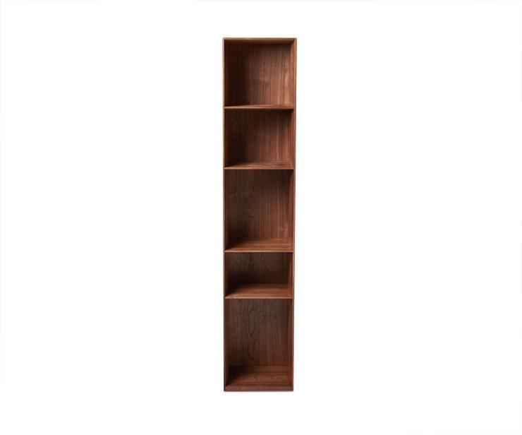 "Asua 59"" Hanging Bookcase Walnut - Scandinavian Designs"
