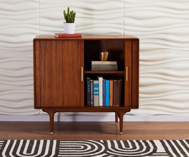 Hendrick Low Cabinet Timber Brown - Scandinavian Designs