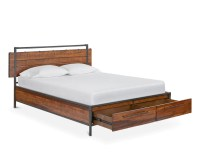 Insigna Storage Bed  Scandinavian Designs