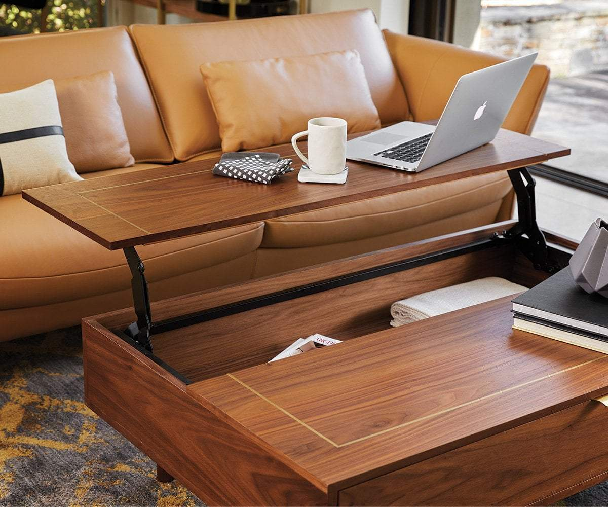kallan lift top storage coffee table
