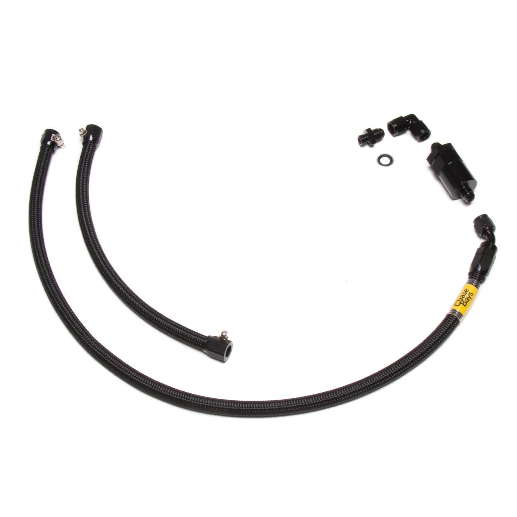medium resolution of chase bays fuel line kit 92 00 civic 94 01 integra w b d h series