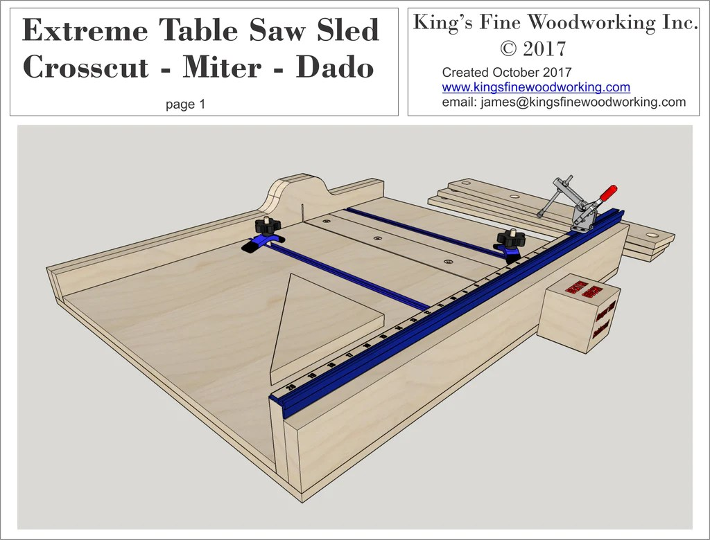 Table Saw Sled For Sale
