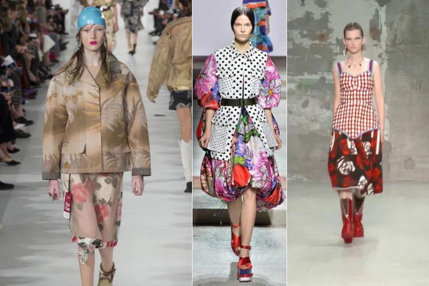 Print fashion trends spring summer 2018