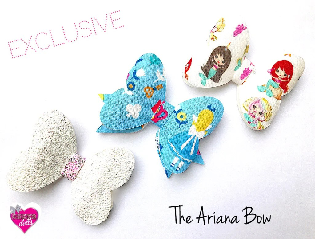 ariana bow exclusive hair die