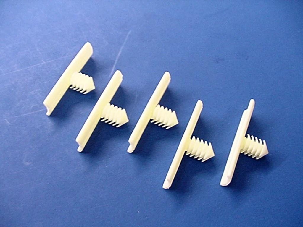 medium resolution of 5 gm white nylon wiring harness retainers fasteners clips