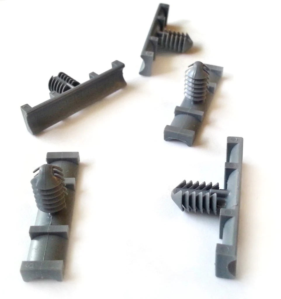 small resolution of 5 gm nylon wiring harness retainers fasteners clips