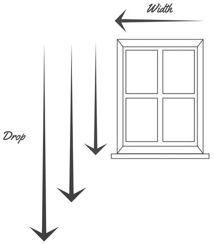ready made curtains measuring guide