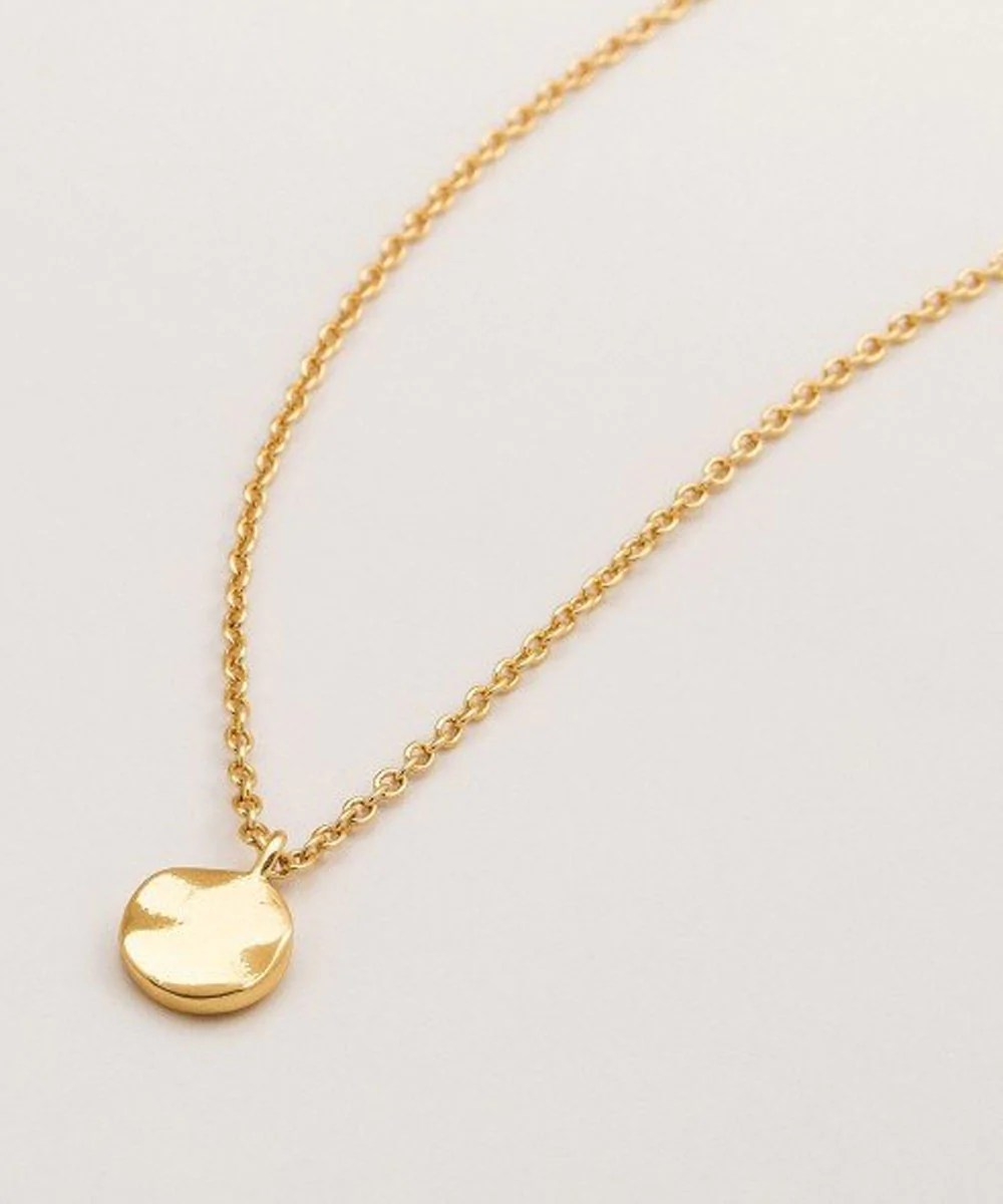 I love this in rose gold. It's a sweet dainty necklace & easy to wear with anything.