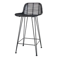 Chair Stool Black Plastic Design With Price Rattan Bar Counter Hk Living Usa
