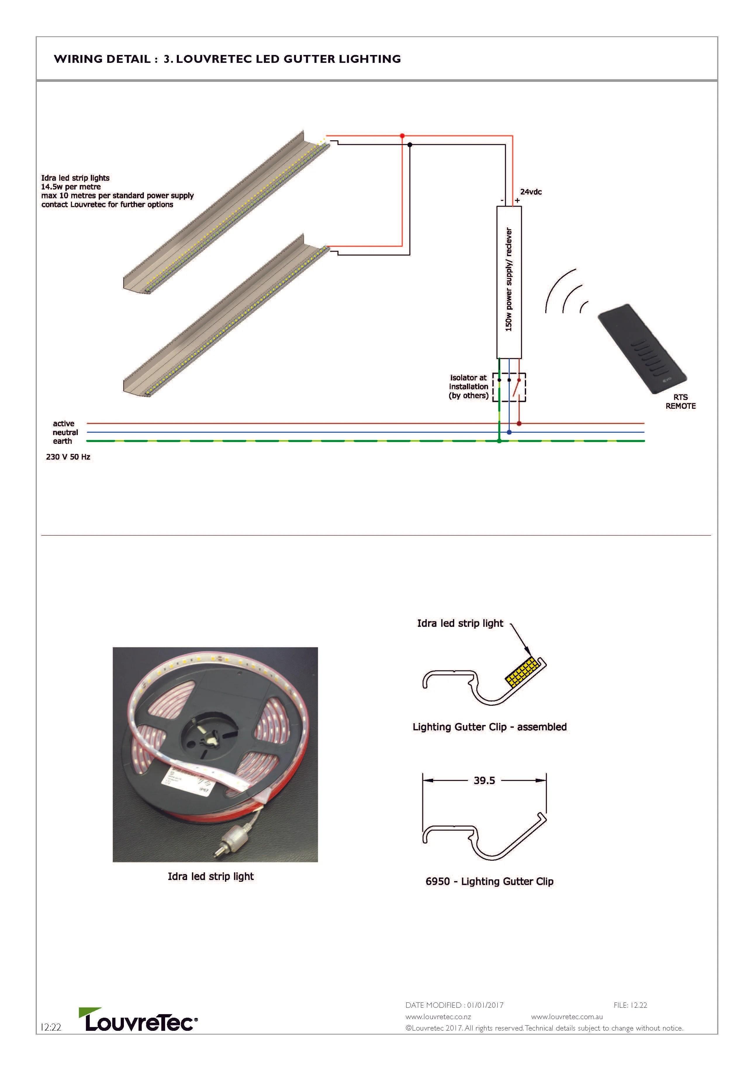 small resolution of louvretec led gutter lighting 12 22