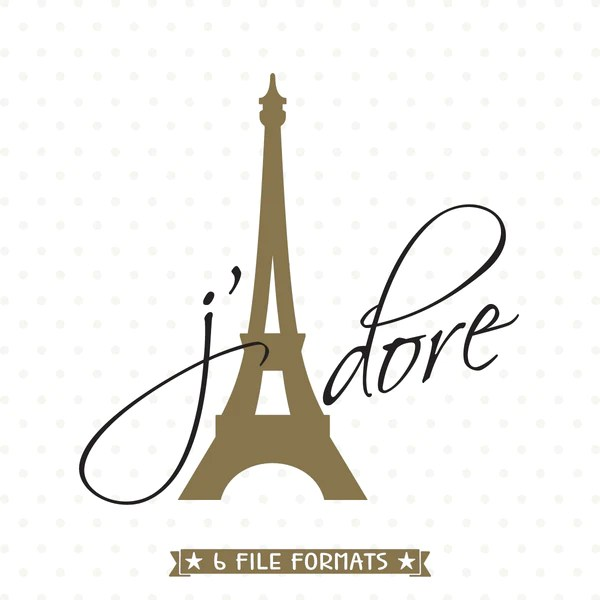 eiffel tower svg file love svg