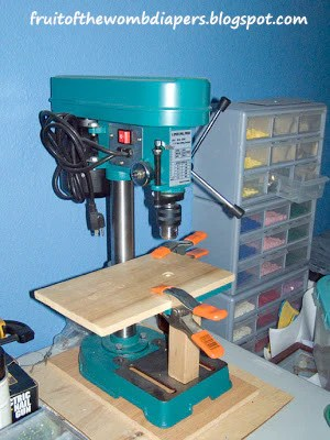 Drill Press Mill Conversion