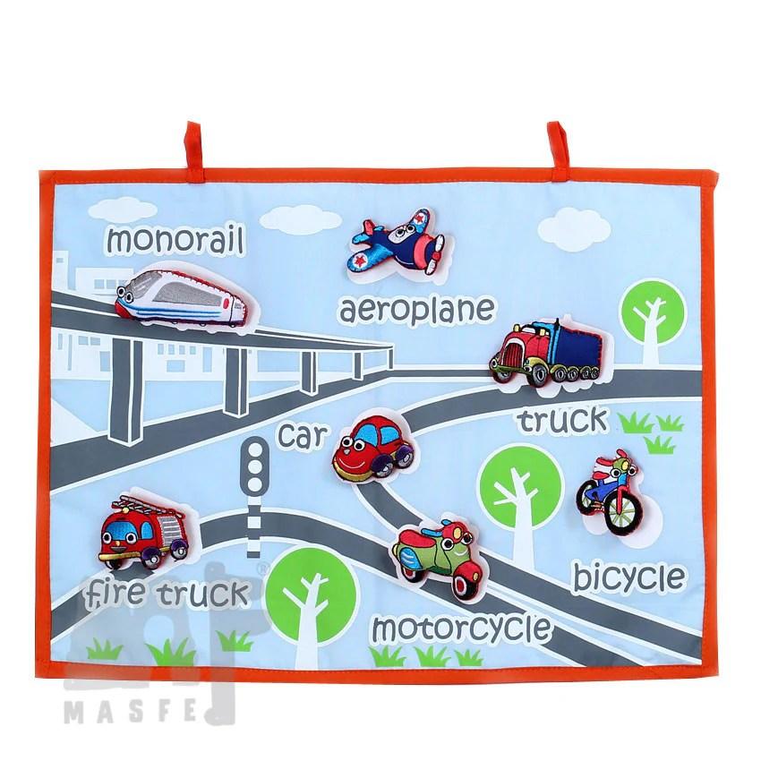 Handmade transportation wall chart vehicle learning also transport for kindergarten rh masfe