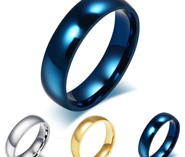 Mens Titanium Ring Eazideal Jewelry Galore