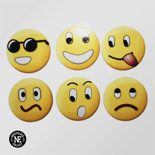 classic emoji 6 pack