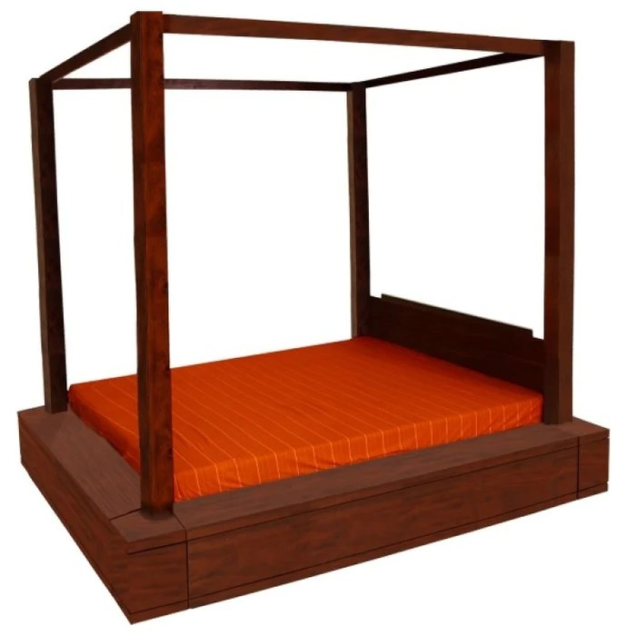 amsterdam 4 poster bed queen size for