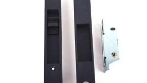 Adams Rite 4431 Sliding Glass Door Handle Set Keyed,Flush
