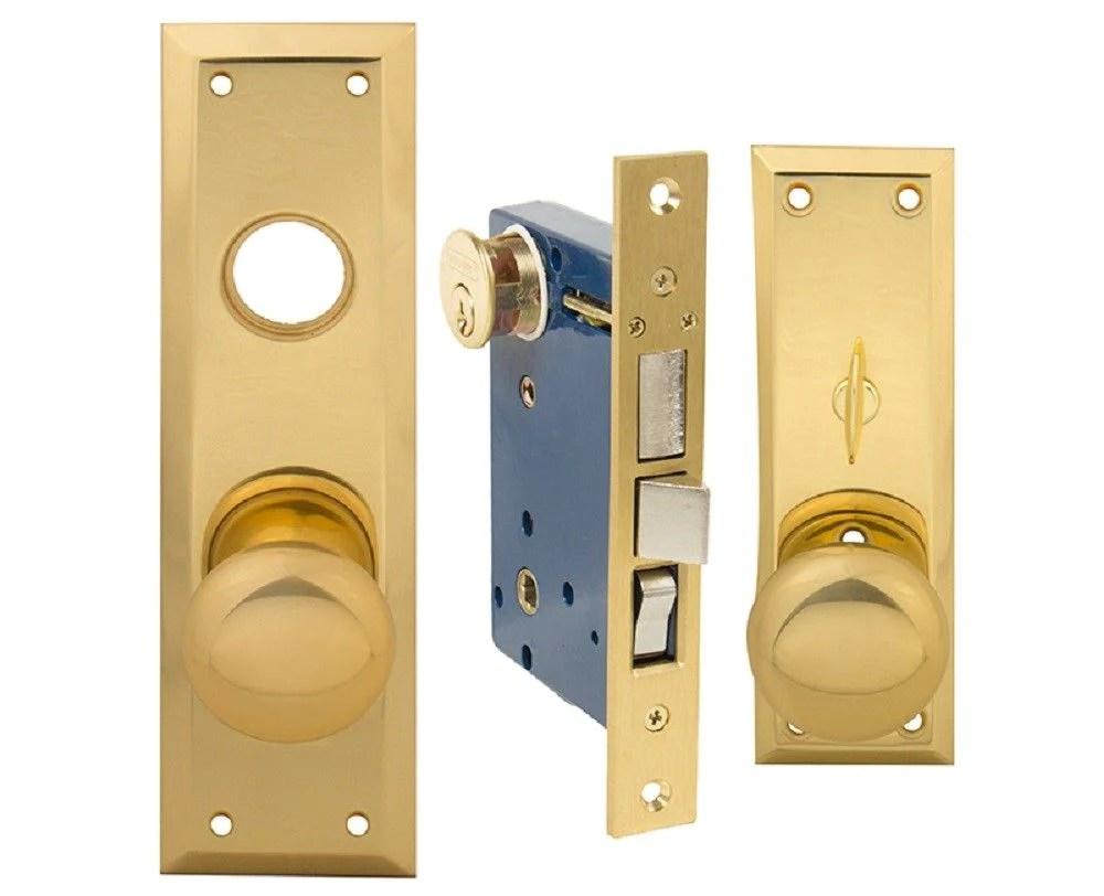 Em-kay Mortise Entry Lockset Lock Fits Marks 91a