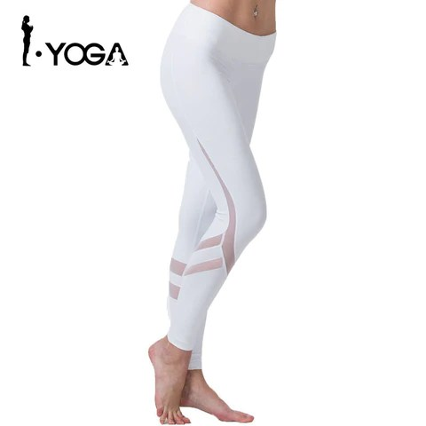 White High Elastic Tights For Women