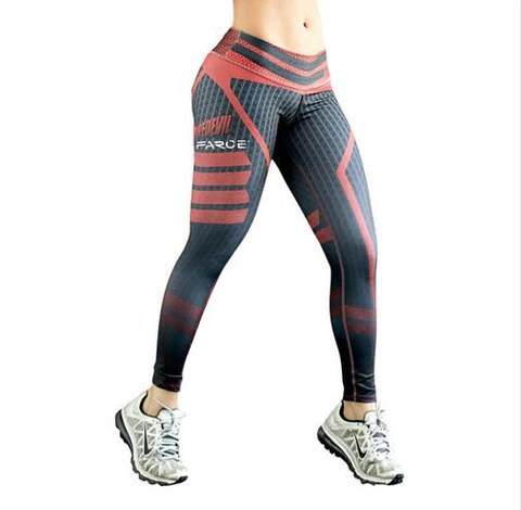 Women Fitness Yoga Pants Women Fitness Slim Sexy Yoga Leggings Elastic Compression Pants High Waist Ladies Winter Running Tights