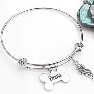 dog memorial bracelet gifts