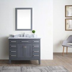 Kitchen Vanities Light Covers Danny 42 Bathroom Vanity Maple Grey Ari Bath