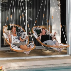 Hammock Chair Swings Plastic Swivel Double Swing With Footrest Island Life Co King