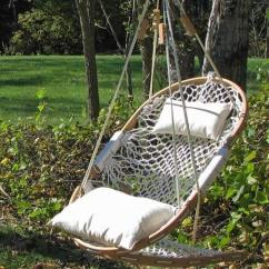 Hammock Chair Swings Covers For Classroom Swing With Footrest Queen Island Life Co