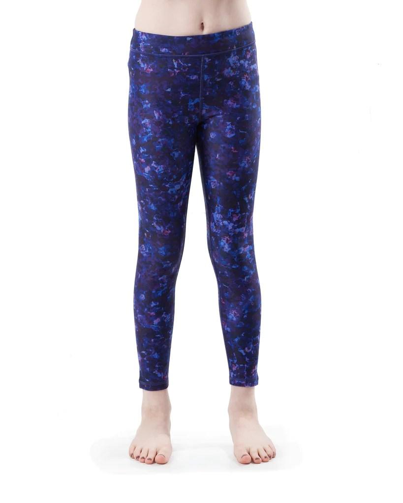 Kids Violet - Yoga Pants Bakasana Activewear