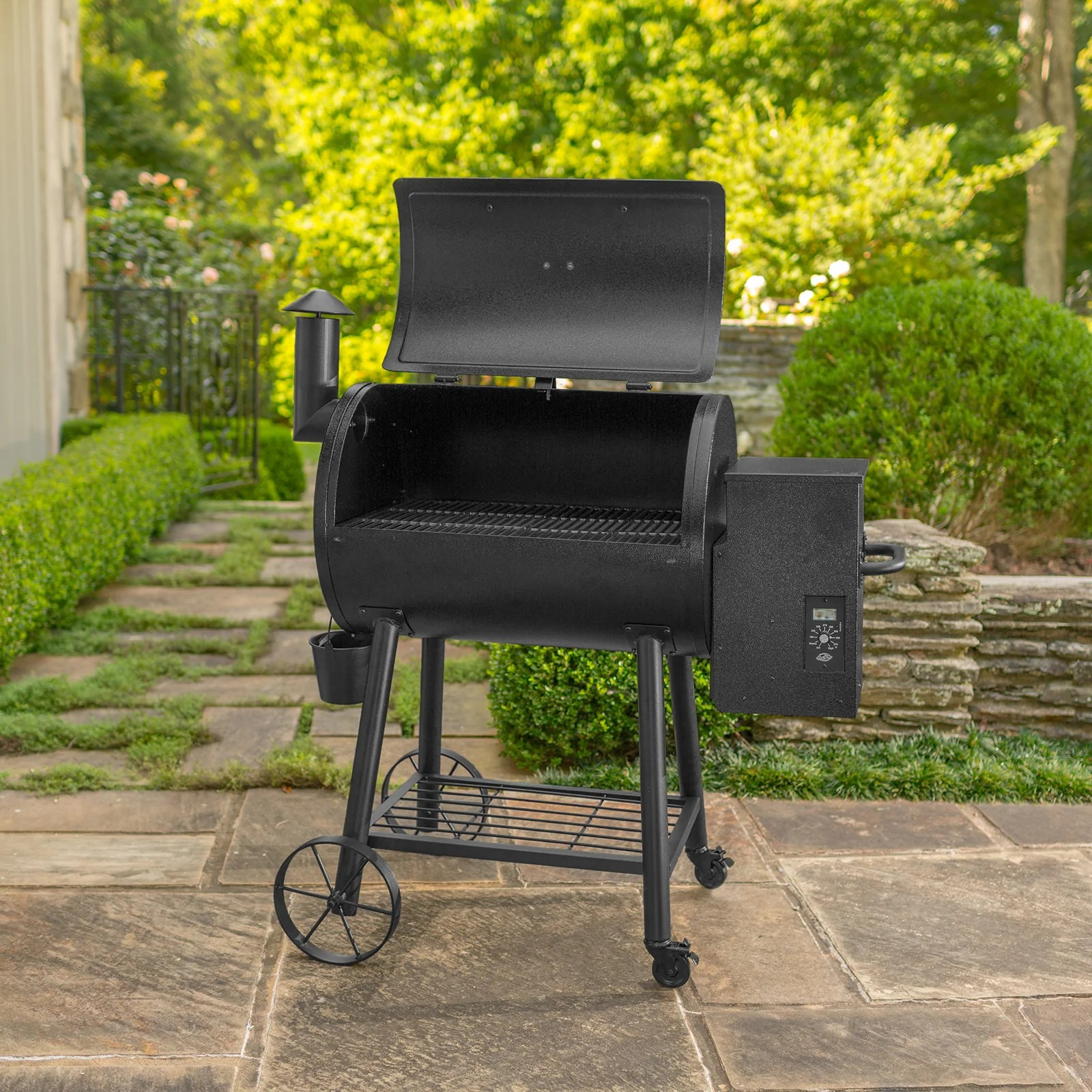 hight resolution of wood pro pellet grill