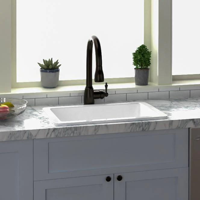 27 polk fireclay single bowl kitchen sink