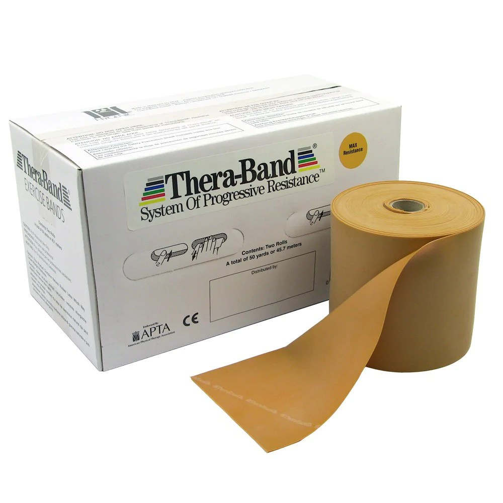 TheraBand™ Professional Latex Resistance Bands (per yard) – Golden Horse Medical Supplies
