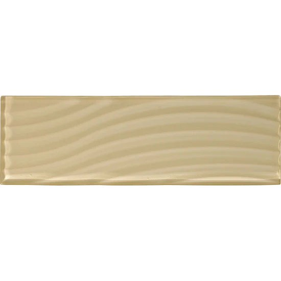 american olean abstracts 4 in x 12 in wavy glass wall tile cloud cream
