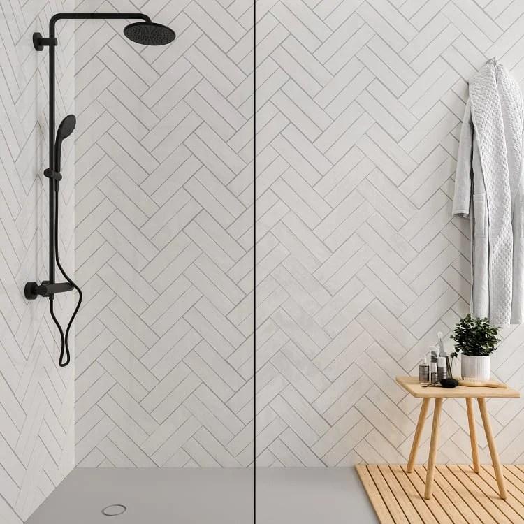 arizona tile flash 3 x 12 ceramic wall tile white