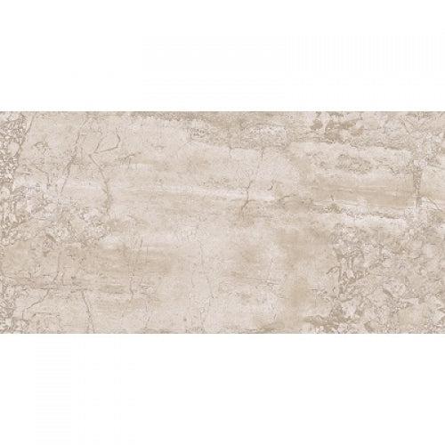 lungarno stoneway 12 in x 24 in glazed porcelain tile white beige