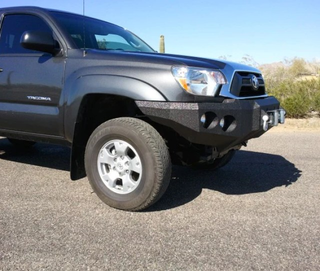 Toyota Tacoma Front Base Bumper Iron Bull Bumpers