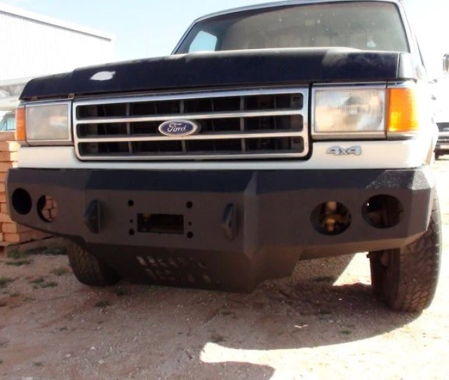 1987 1991 Ford F 150 Front Base Bumper