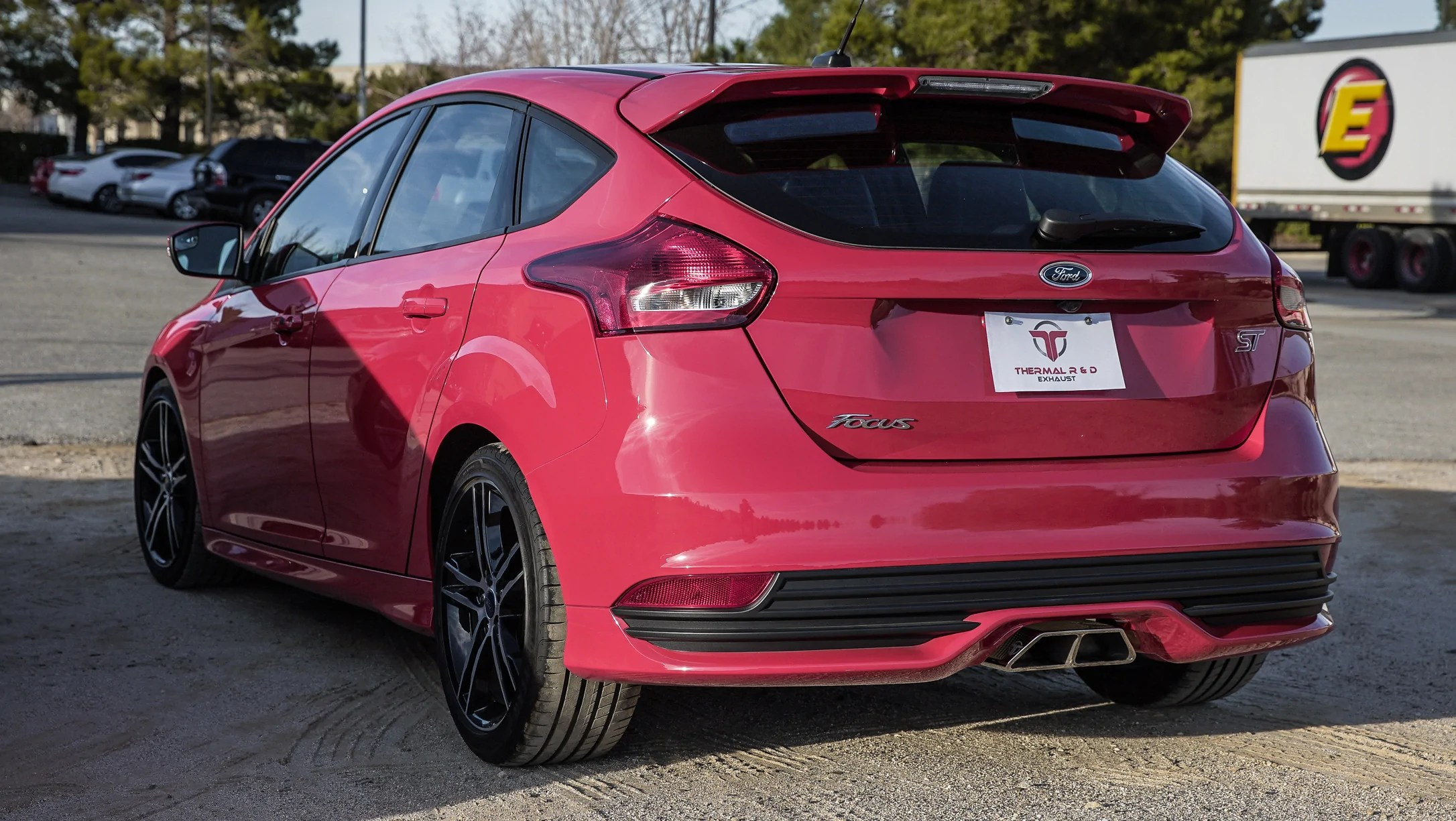 2012 2019 ford focus st 3 catback exhaust